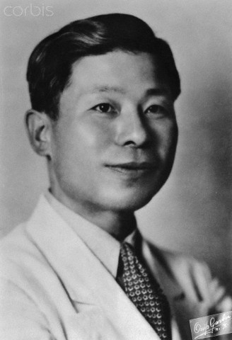 Portrait of Younghill Kang. Image from www.corbisimages.com