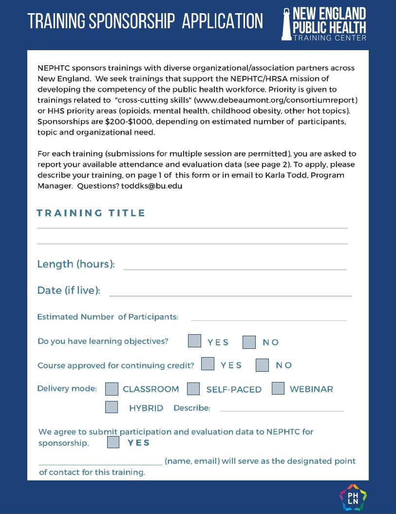 Partner Resources | New England Public Health Training Center