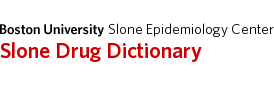 Slone Drug Dictionary
