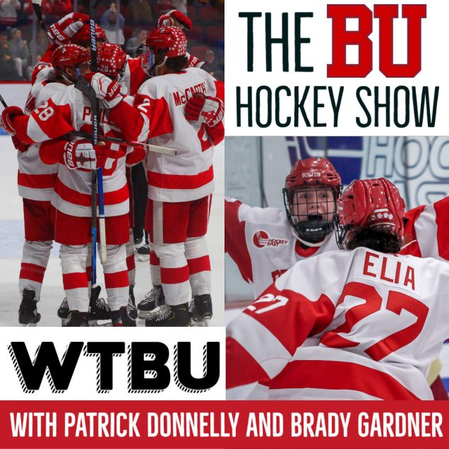 BU Hockey Show Logo