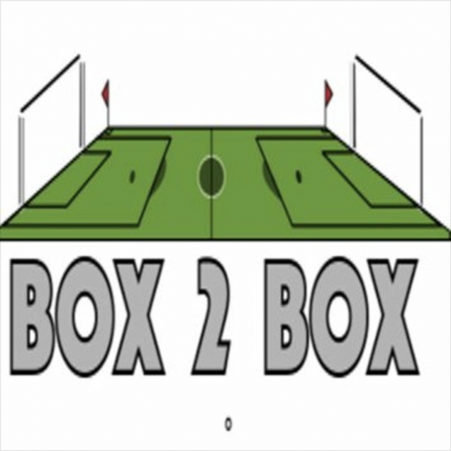 Box to Box Podcast Logo